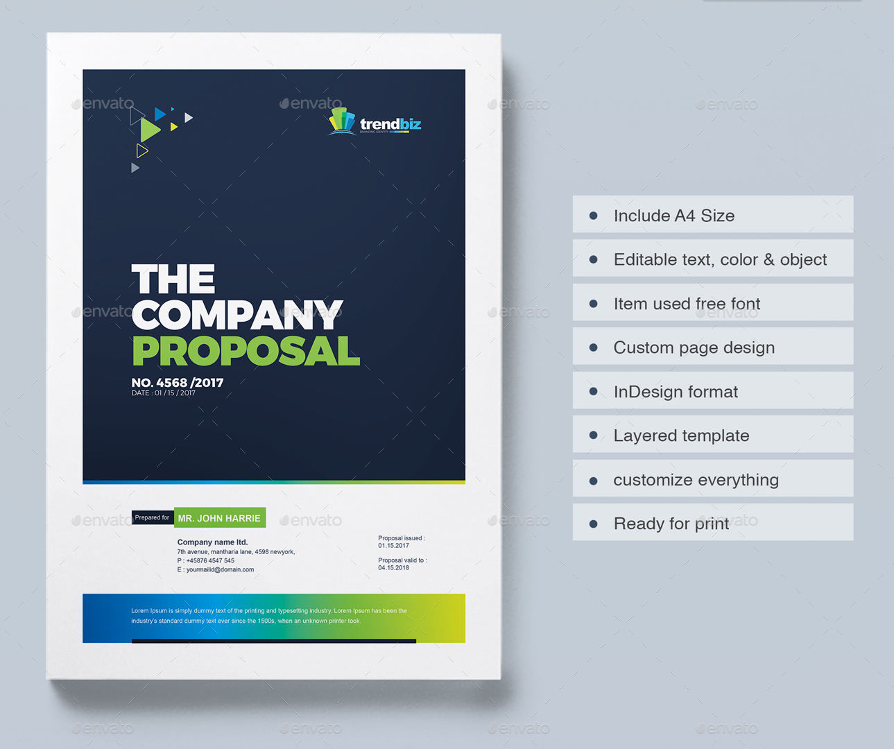 Proposal Template Design Project Proposal – Project Front Page Design in Word