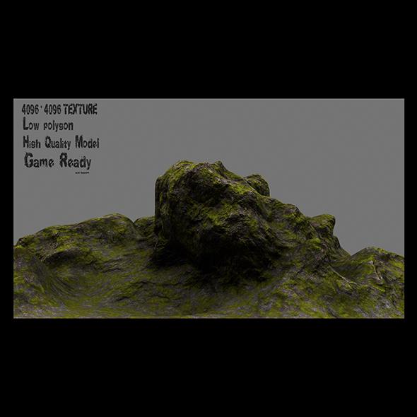 rocks 01 - 3DOcean Item for Sale