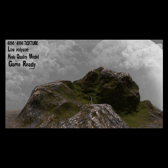 rocks 001 - 3DOcean Item for Sale