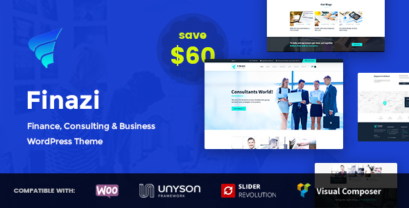 Finazi - Business & Finance WordPress Theme