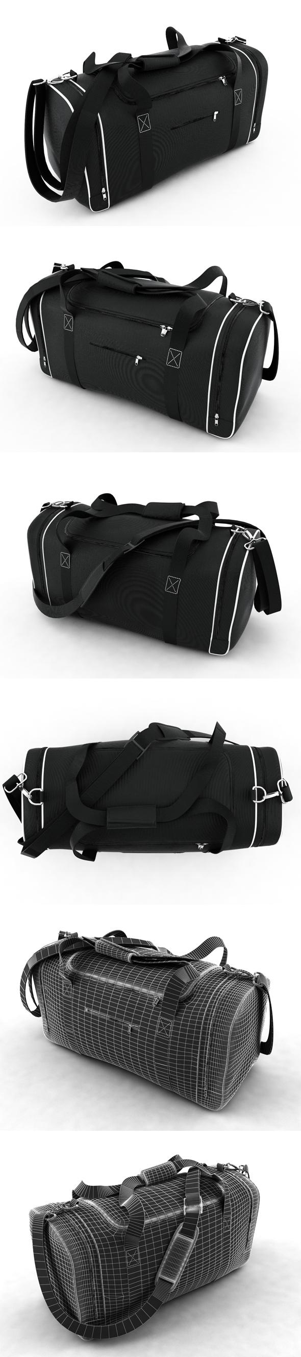Sport bag - 3DOcean Item for Sale