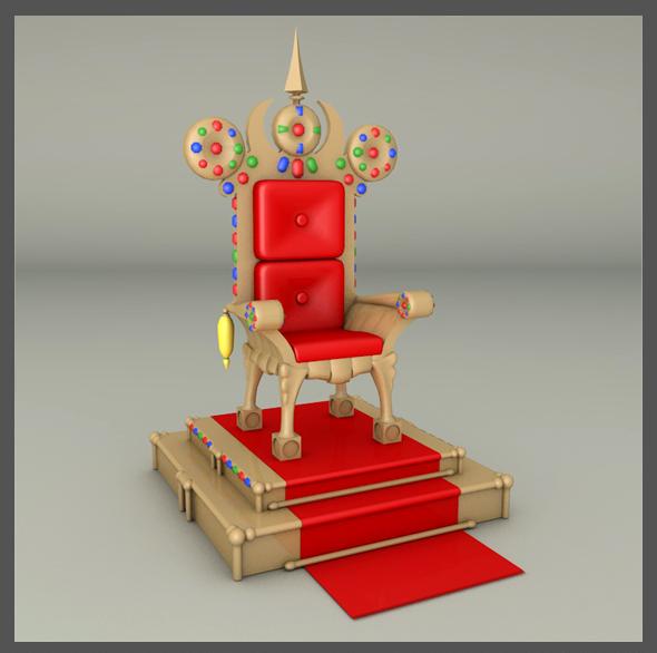 3DOcean Throne 19490031