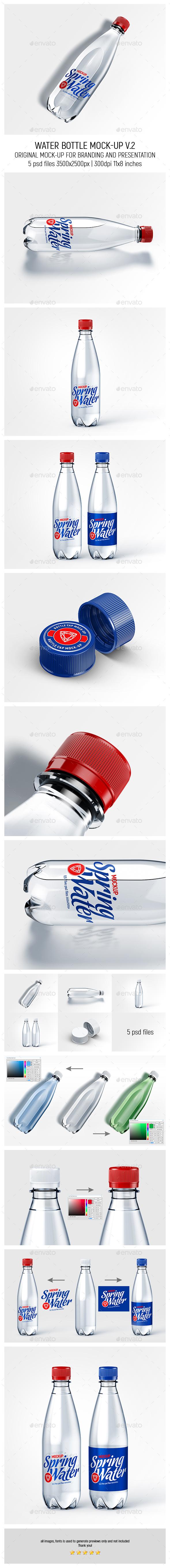 Water Bottle Mock-up v.2