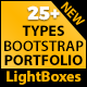 Responsive Bootstrap Portfolio And Lightbox