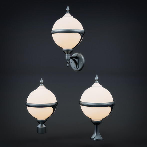 Wall Lamp Collection - 3DOcean Item for Sale