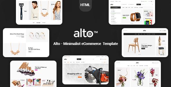 Alto - Minimalist eCommerce Template