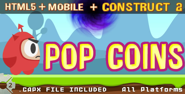 POP COINS - html + (.capx)