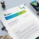 Fax Paper | Cover Sheet | Letterhead Design Template