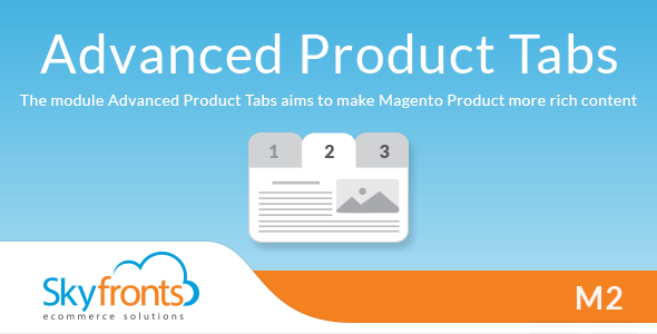 Download Advanced Product Tabs for Magento2