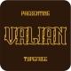 Valian typeface