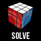 Rubiks Cube Solving Rotating Itself - V2