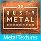 30 Rusty Metal Background Textures