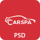 Carspa - Car Wash & Workshop PSD Template