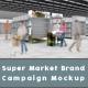 Super Market Brand Campaign Mockup