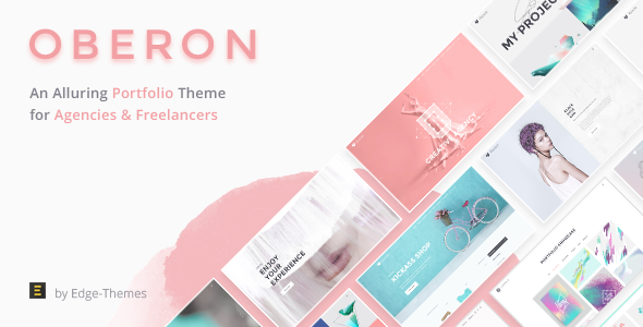 Oberon - An Alluring Portfolio Theme for Agencies and Freela ...