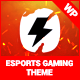 PixieBolt   eSports Gaming Theme For Clans & Organizations