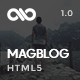 MagBlog - News Editorial & Magazine HTML5 Template