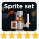 2D Pixel Character Sprite Set #1