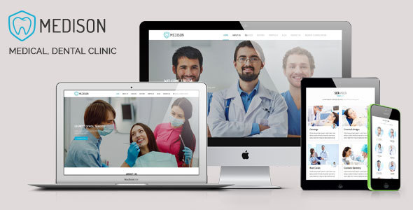 Medison – Medical, Dental Clinic HTML Template (Health & Beauty) images