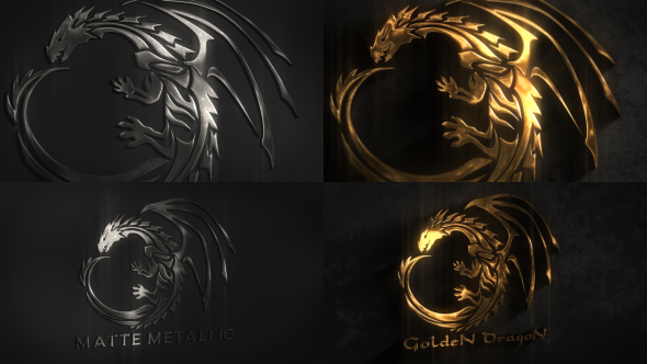Videohive - Metal Logo 19492696 - Free Download
