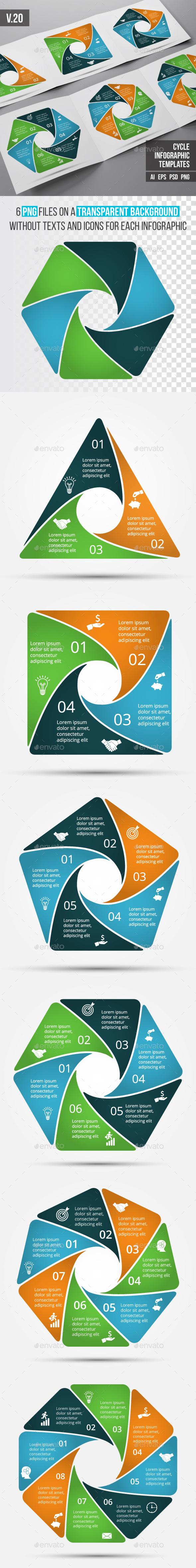 Infographics template set v.20