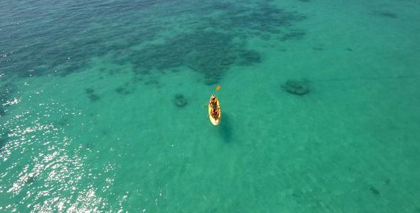 VideoHive Kayaking At The Sea 18934611