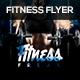 Fitness Freak Party Flyer