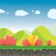 Florescent Background