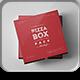 25 Pizza Box Mock-up