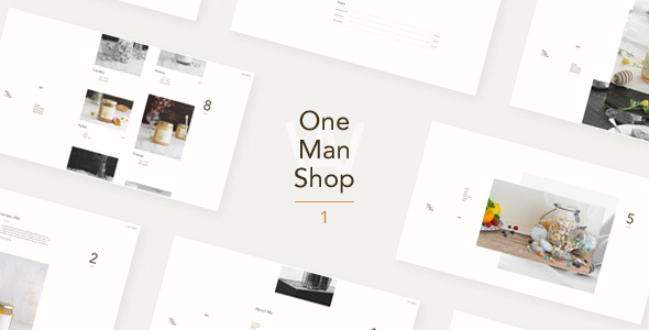 OneManShop One - WordPress WooCommerce Theme For Small Personal Shops