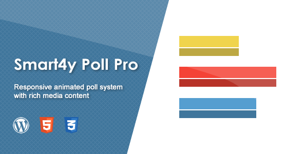 Codecanyon Smart4y Poll Pro - Responsive Animated WordPress Poll Plugin 19493617