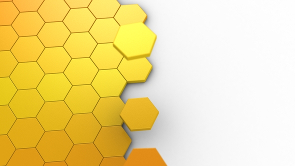 VideoHive Animation of Hexagons 19493675