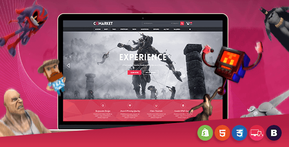 Image of CGMarket - Sectioned Responsive Shopify Theme