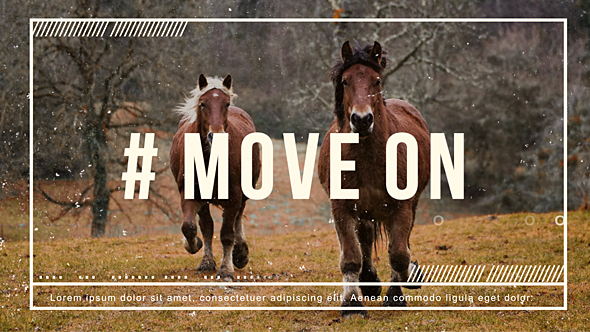 VideoHive Move On 19450381