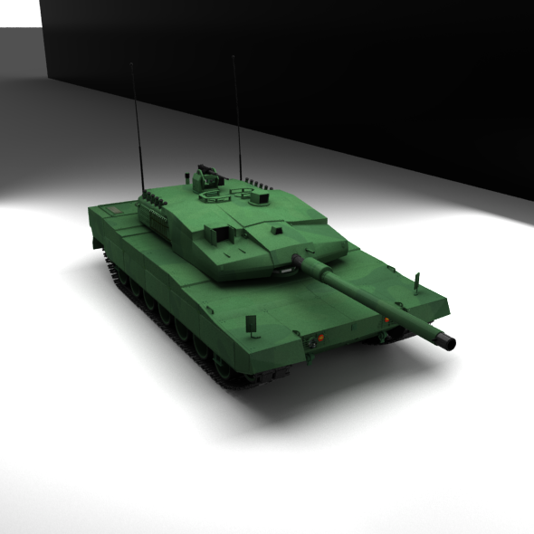 Altay Tank Army - 3DOcean Item for Sale