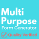 Multi-Purpose Form Generator (Contact forms, Feedback forms, event registration, and many more) (Forms)