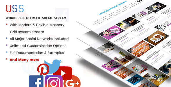 USS – WordPress Ultimate Social Stream