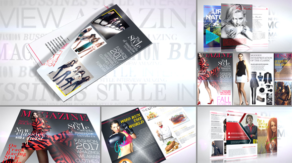 Videohive - Magazine Promo 19495820 - Free Download