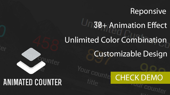 Codecanyon Animated Counter Plugin 19496018