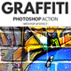 Graffiti Effect with Pop Up Photoshop Action-Graphicriver中文最全的素材分享平台