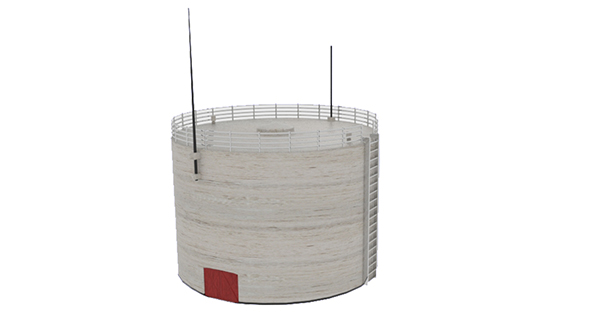 Oil Silo 468 - 3DOcean Item for Sale