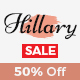 Hillary - Simple and Elegant WordPress Blog Theme