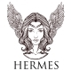 Vector Illustration of the Greek God Hermes