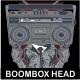 Boombox T-shirt design
