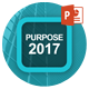 Purpose 2017 Powerpoint Template