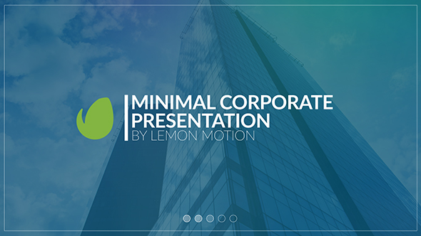 VideoHive Minimal Corporate Presentation 19499343