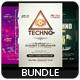 Techno - Flyers Bundle [Vol.02]