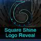 Square Shine Logo Reveal