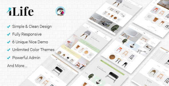 Download JMS 4Life - Responsive Prestashop Theme