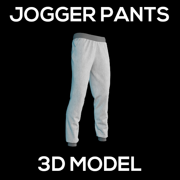 Jogger Pants - 3DOcean Item for Sale